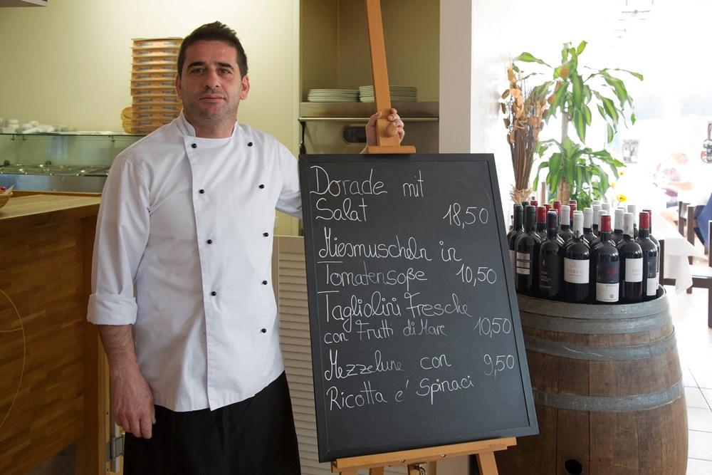 Giovanni Caligiuri - Wirt im Restaurant des TCA