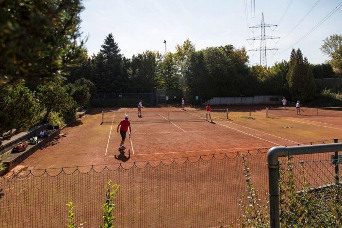 Tennisclub Asperg im Oktober 2015