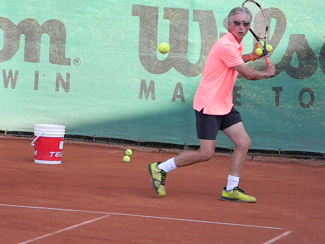 Tennistrainer David King